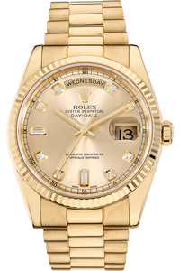Day Date Yellow Gold Automatic