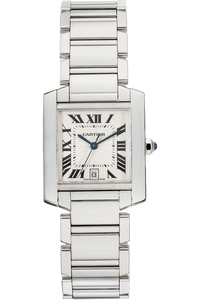 Tank Francaise White Gold Automatic