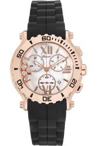 Happy Sport Chrono Rose Gold Quartz