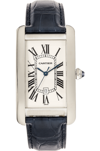 Tank Americane White Gold Automatic