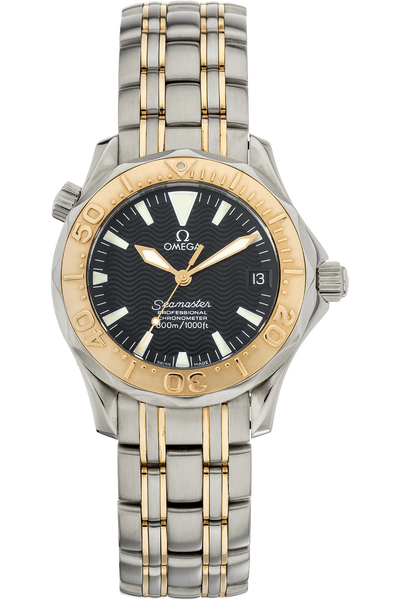 Seamaster Yellow Gold and Stainless Steel Automatic
