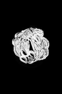 Lacrima Ring in 18K White Gold