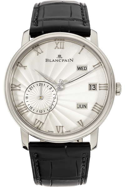 Villeret Annual Calendar GMT White Gold Automatic