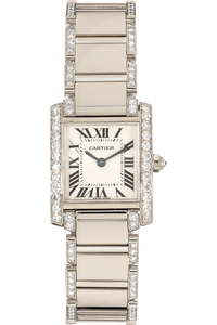 Tank Francaise White Gold Quartz