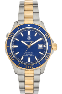 Aquaracer Yellow Gold-Plated and Stainless Steel Automatic