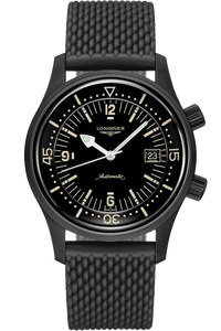 The Longines Legend Diver Watch 42mm PVD
