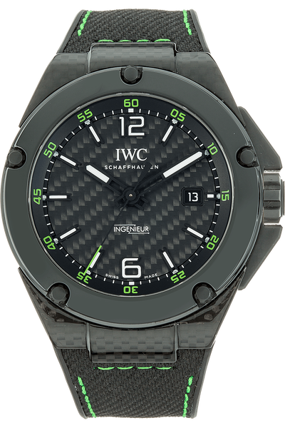 official photos 7ac9c d9220 Pre-Owned IWC Carbon PerformanceIngenieur Automatic Limited ...