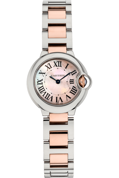 Ballon Bleu Rose Gold and Stainless Steel Quartz