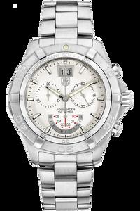 Aquaracer Grande Date Chronograph Stainless Steel Quartz