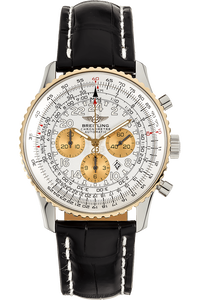 Navitimer Cosmonaute Yellow Gold and Stainless Steel Automatic