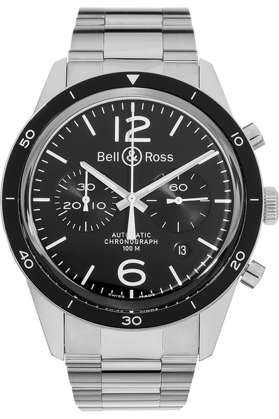 BR 126 Sport Stainless Steel Automatic