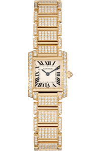 Tank Francaise Yellow Gold Quartz