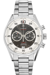 Carrera Calibre 36 Flyback Chronograph  Stainless Steel Automatic
