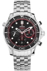 Seamaster Co-Axial Chronograph ETNZ Stainless Steel Automatic