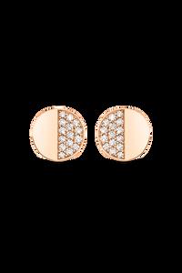 B Dimension Ear Pins in 18K Rose Gold
