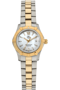 Aquaracer Yellow Gold and Stainless Steel Quartz