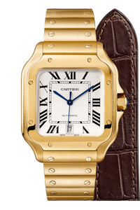 Santos de Cartier Yellow Gold, Large