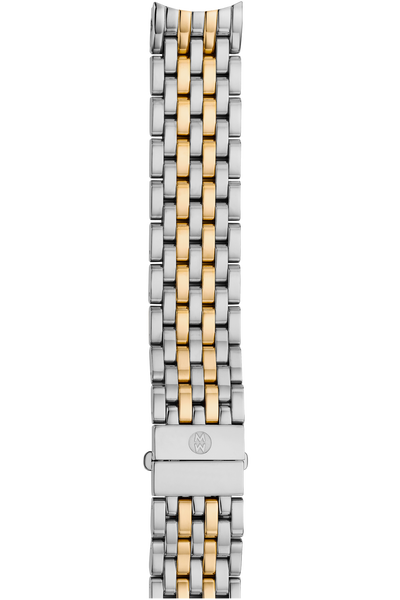 16MM Serein 7-Link Stainless Steel and Yellow Gold Bracelet