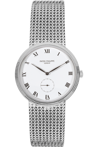 Calatrava Reference 3919 White Gold Manual