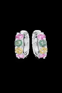Pastello Ear Pins in 18K White Gold