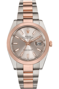 Datejust 41 Rose Gold and Stainless Steel Automatic