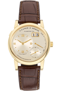 Lange 1 Yellow Gold Manual