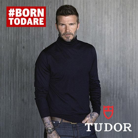 David Beckham TUDOR image