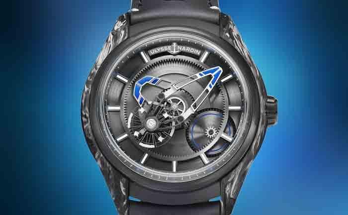 Bucherer BLUE Girard-Perregaux watch