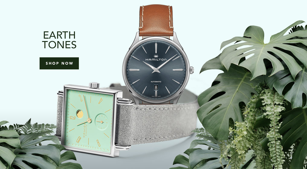 Earth Tone Watches