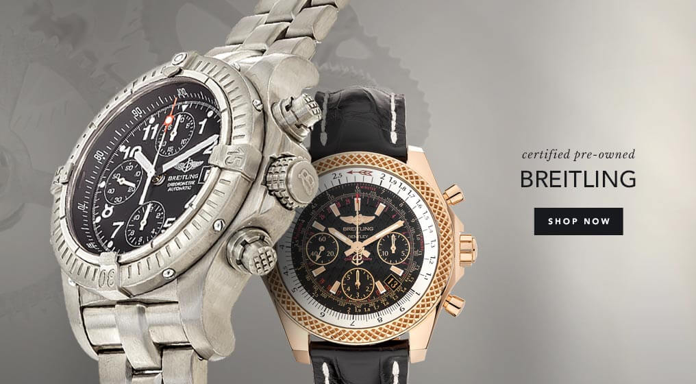 Certified Pre-Owned Breitling