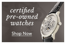 Shop Certified Pre-Owned Watches