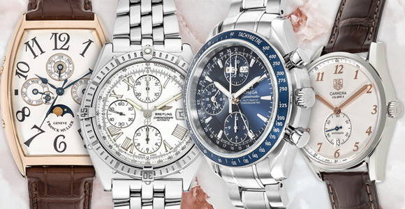 b30a01844a6 10% off stainless steel Pre-Owned Watches