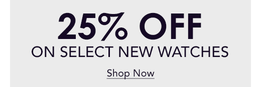 Save 25% off Select Brands