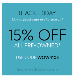Pre-Owned Sale Terms & Conditions