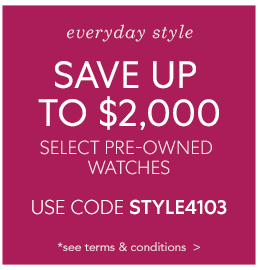 Pre-Owned Everyday Style Sale Terms & Conditions