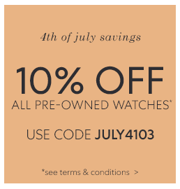 4th of July Sale Terms & Conditions