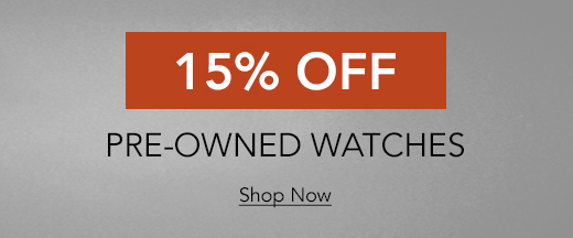 Shop all Sale Certified Pre-Owned Watches