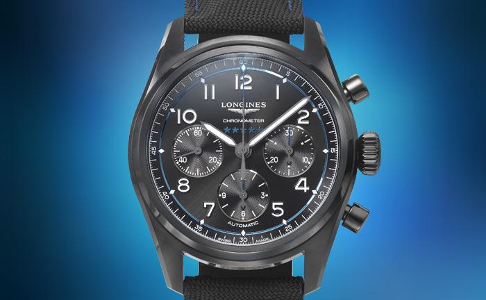 Bucherer BLUE LONGINES watch