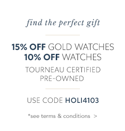 Up to 15% off Pre-Owned Watches Terms & Conditions