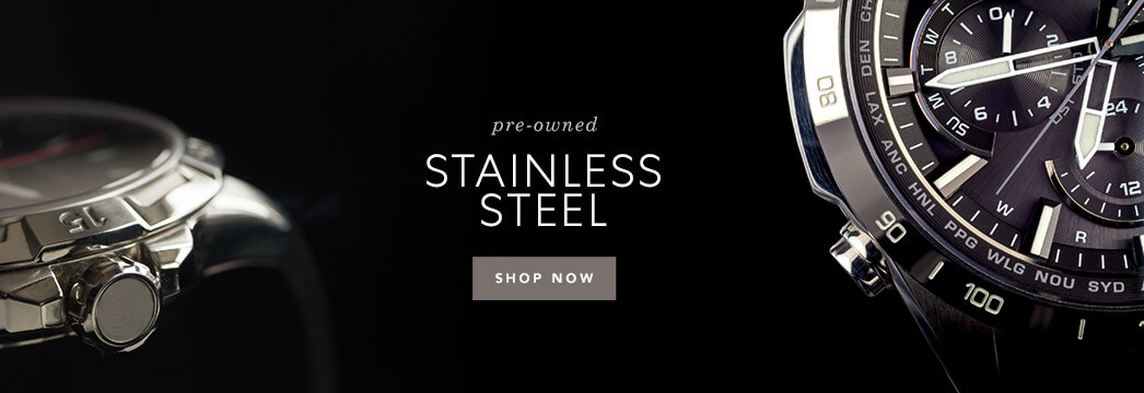 Pre-Owned Stainless Steel Watches