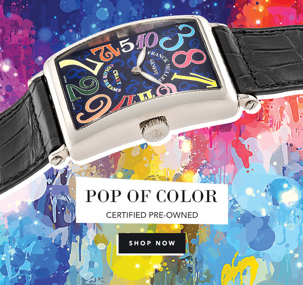 Pre-Owned Color Watches