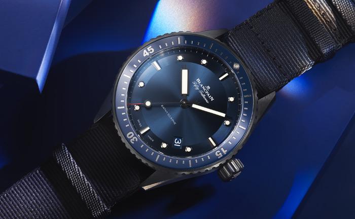 Bucherer BLUE BLANCPAIN watch