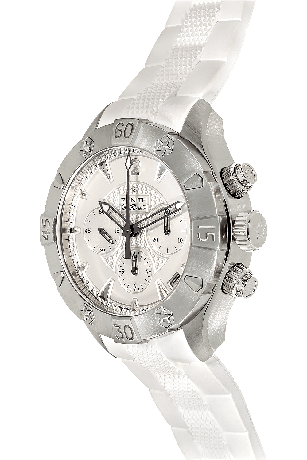 98df2424fe6 ... Defy Classic El Primero Chronograph Stainless Steel Automatic ...