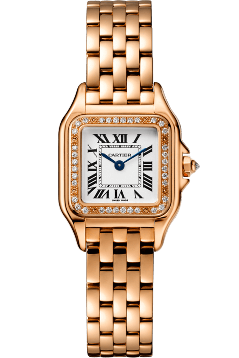 Cartier Panthere De Cartier Small Rose Gold With Diamonds Wjpn0008