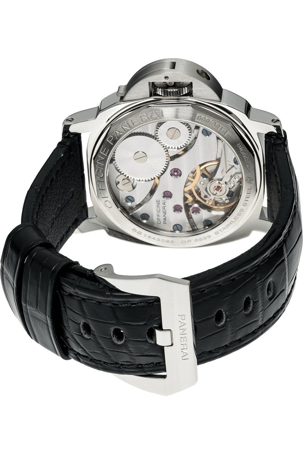 new product b41a9 9ab12 Pre-Owned Panerai Luminor Base Left-Handed (PAM00219)