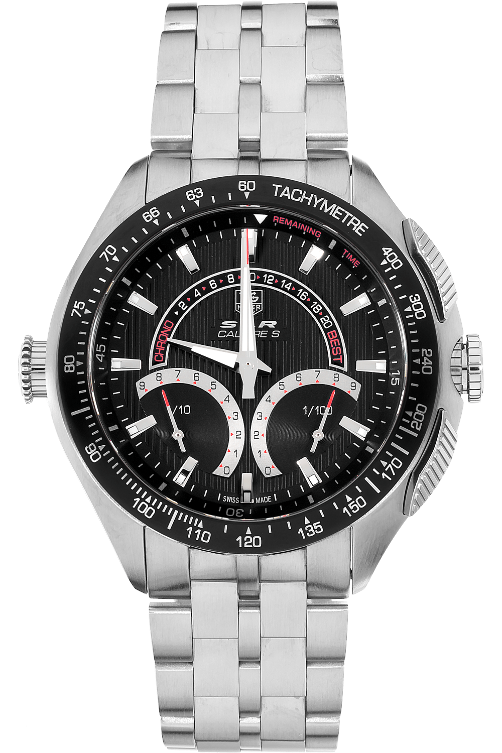 Mercedes Certified Pre Owned >> Pre-Owned TAG Heuer Mercedes Benz SLR Calibre S Quartz ...