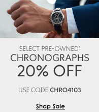 Pre-Owned Watches on Sale