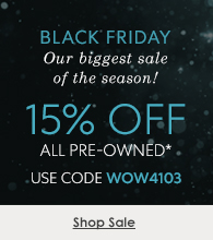 15% off pre-owned watches