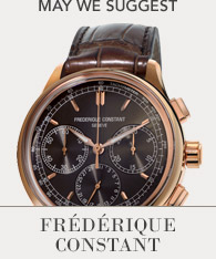 Featured Brand - Frederique Constant Shop now