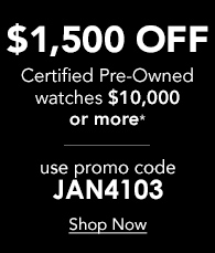 Save $1500 off Certified Pre-Owned $10,000+ Enter Promo code JAN4103 at Checkout - Shop Now
